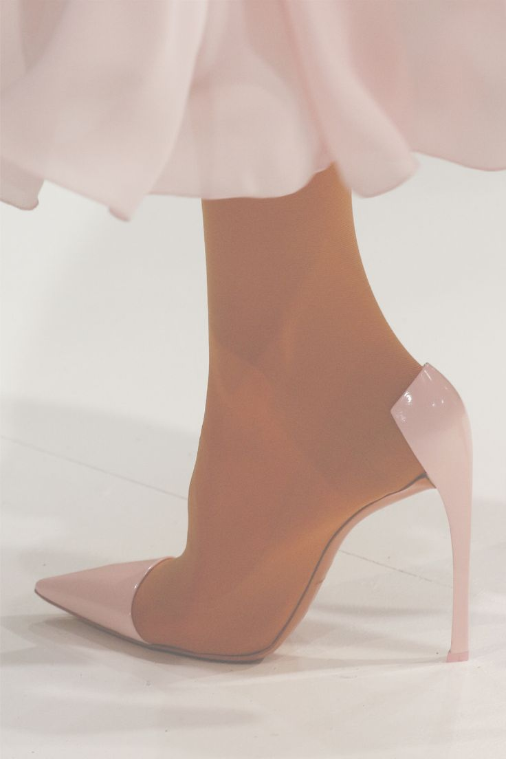 Shoes at Christian Dior Haute Couture S/S 2013