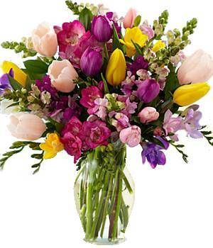 17 best spring images on pinterest flower arrangements floral the spring dazzle arrangement perfect for welcoming spring with such beautiful blooms order one mightylinksfo
