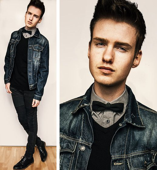 Yeah, it's cool, bow ties are cool (by Erwin Bloemendal) http://lookbook.nu/look/4616375-Yeah-it-s-cool-bow-ties-are-cool