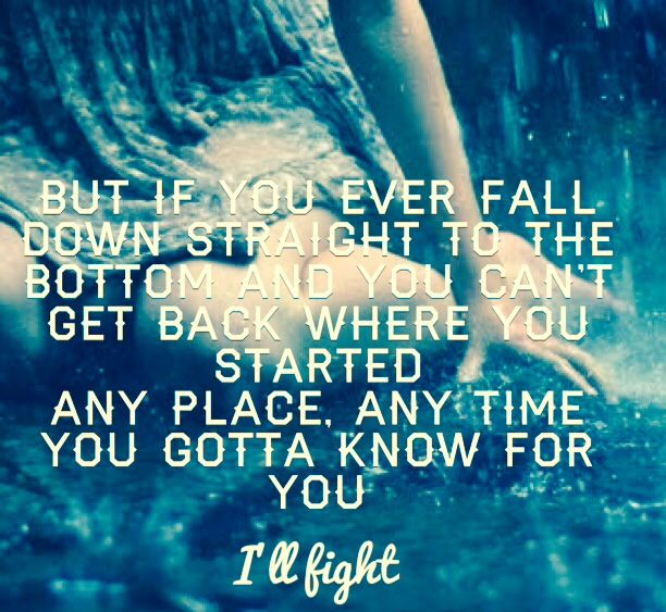 """I'll Fight"" ~ Daughtry. One of my favorite Daughtry songs. :)"