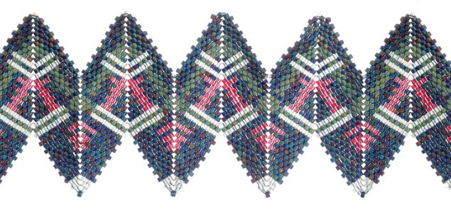 Danielle McElroy Brown RickRack, Contemporary Geometric Beadwork, 2012, Jean Power and Kate McKinnon