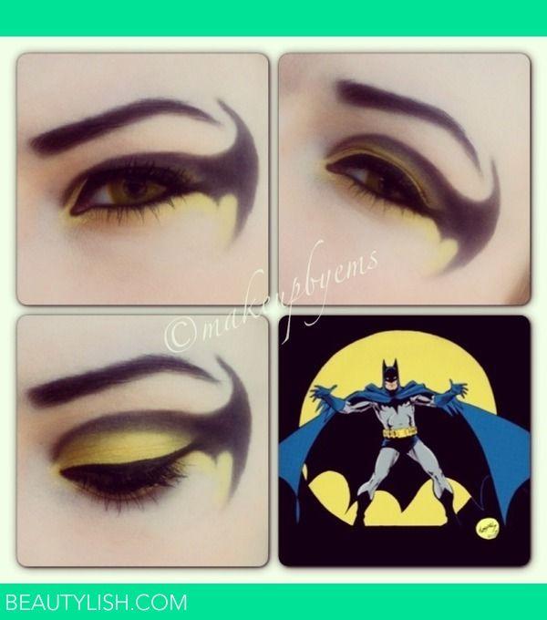 batman comics makeup look | Emma B.'s Photo | Beautylish