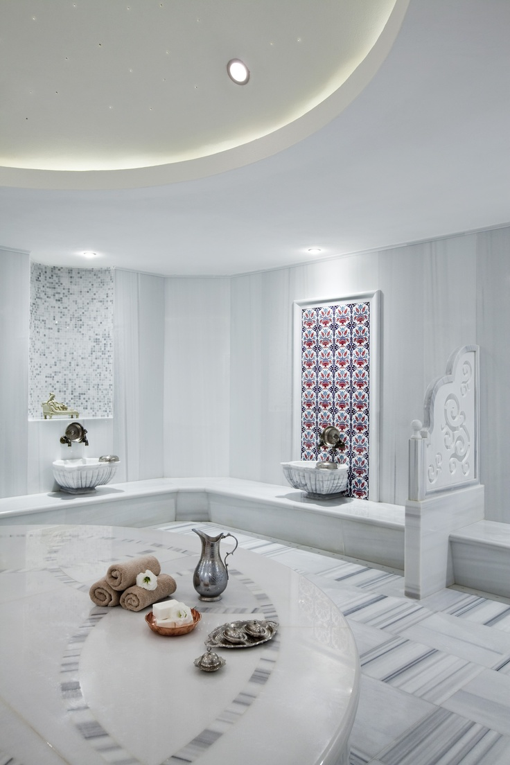 like the floor tile and the feel of this - feels calm-Turkish Hamam-Turkey