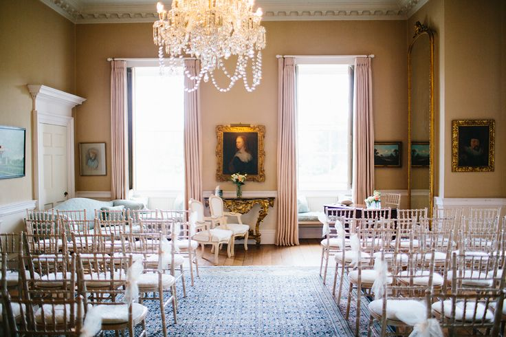 Civil Ceremony in the Drawing Room - Photography by Rachel Tweeddle http://racheltweeddalephotography.zenfolio.com/