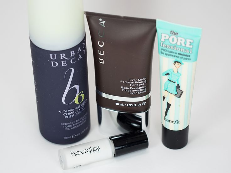 Best Primers for Oily Skin! Makeup Primers: Urban Decay, Becca Cosmetics, Benefit Cosmetics, Hourglass Cosmetics http://goo.gl/LfYndR