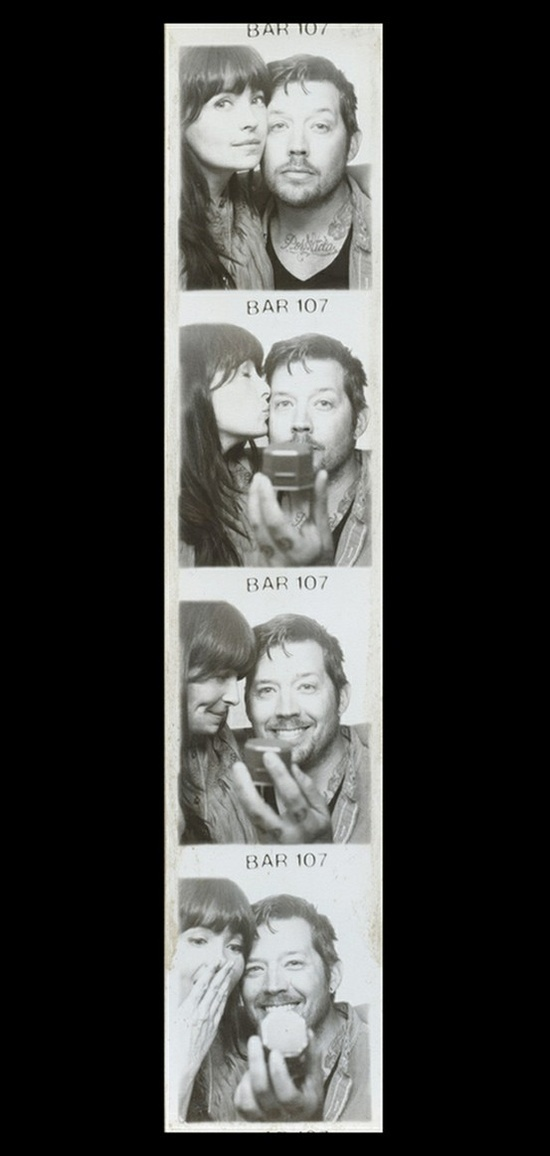 Photobooth proposal...I have been dreaming about a proposal like this for as long as I remember!