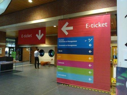 AVANS Academy Den Bosch Routing concept