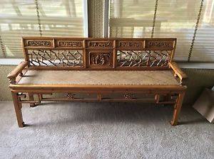 Antique opium bench Chinese furniture collectibles decor antique ...