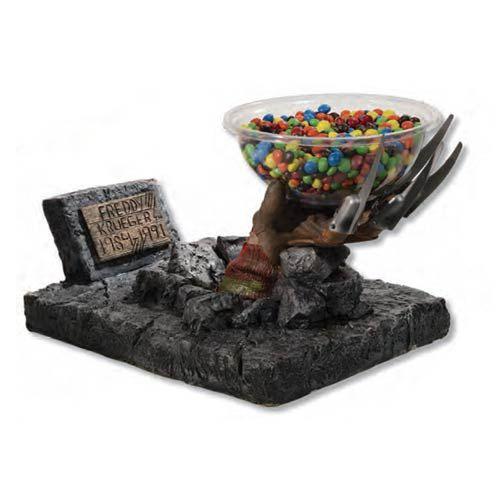 Elm Street Freddy Krueger Grave Hand Candy Bowl Holder
