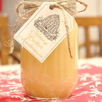 Homemade Honey Butter! Ingredients ( Edit )  1 cup sugar 1 cup heavy cream 1 cup honey 3 sticks butter (or 3/4 lb), softened 1 tsp vanilla