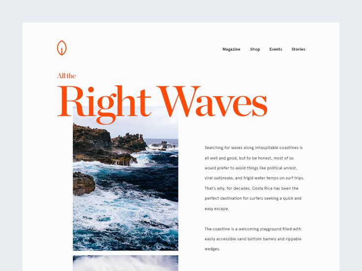 All the Right Waves by Vedad Siljak #Design Popular #Dribbble #shots