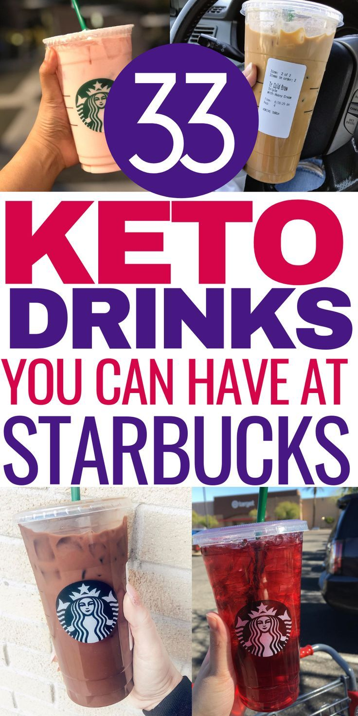 33 Low Carb Starbucks Drinks Keto Dieters Can Enjoy   – Low Carb and Keto