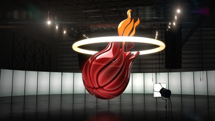 NBA 3D Logos by Andrew Parris | abduzeedo.com