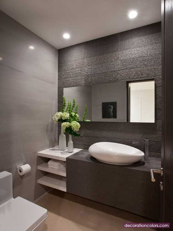 Powder Area Decorating Ideas For Your Bathroom - http://www.decorationcolors.com/colorful-home-decor/powder-area-decorating-ideas-for-your-bathroom.html