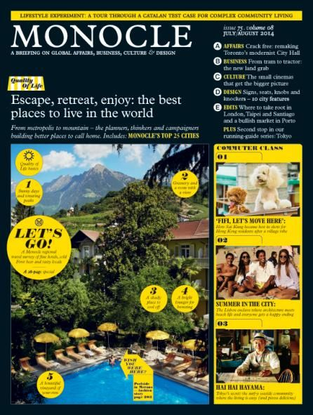Issue 75 - Monocle Magazine