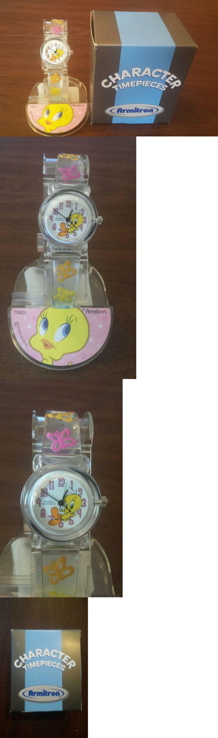 Flintstones 19225: Rare Vintage Tweety Bird Character Watch Display Box New Old Stock Cute ! -> BUY IT NOW ONLY: $35 on eBay!