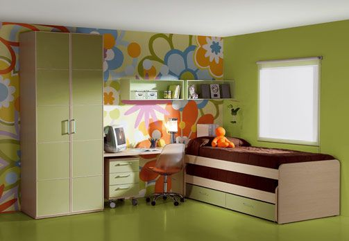Unique wall decorating ideas - Kids Rooms!: Kid Bedrooms, Kids Bedroom, Color, Girls Bedroom, Children Bedroom, Childs Bedroom, Bedroom Designs, Kids Rooms, Bedroom Ideas