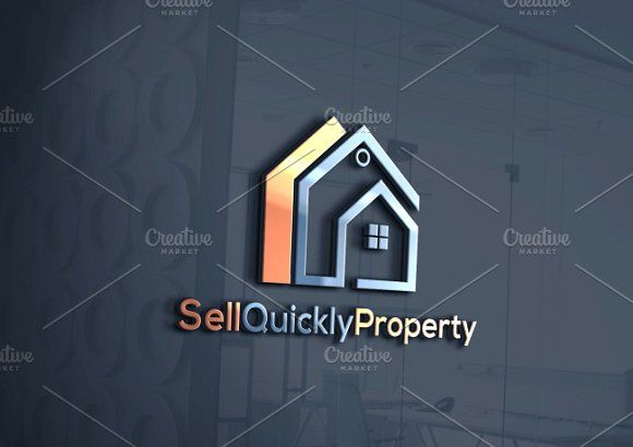 Sell Quickly Property  Logo Template @creativework247