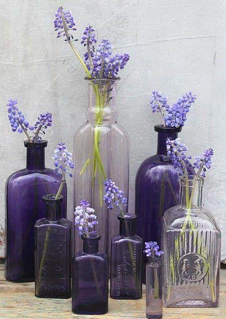 Combineer met paarse tinten.