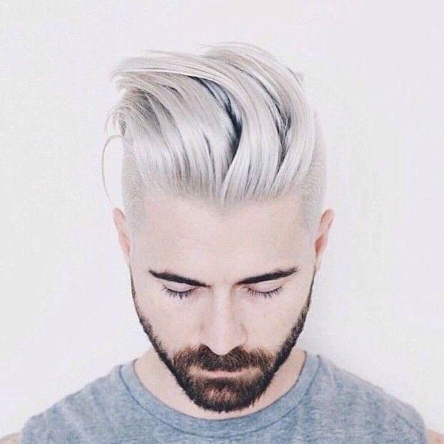 Kyle Krieger bleach blond hair