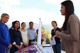 Purísima de Arista, Arroyo Seco, Qro. Diony Loredo Suárez alcalde del municipio participa junto con Tania Palacios Kuri, Secretaria de...