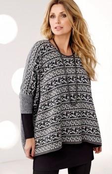 Pullover warmbeauty <3  Varm, pen & trendy ull-tunika / pullover med lekkert mønster. Overdelen er av mykt & varmt materiale med stretch.