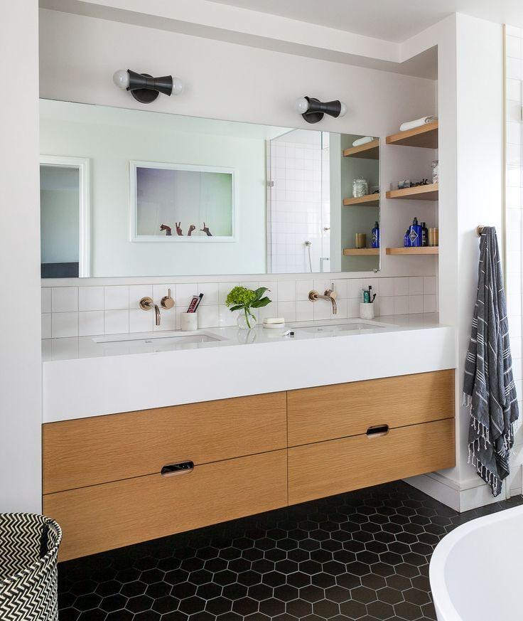 Serendipity Refined Blog Contemporary Apartment Small Bath Makeover: Bathroom, Bathroom Designs And Bathrooms