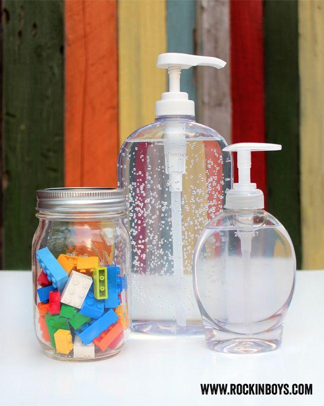 Lego Soap And Hand Sanitizer Tutorial Rockin Boys Club Lego