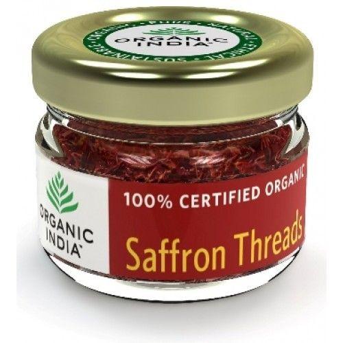 Organic India Saffron Thread ( Kesar ) 2 Gram Buy Online at Best Price in India: BigChemist.com