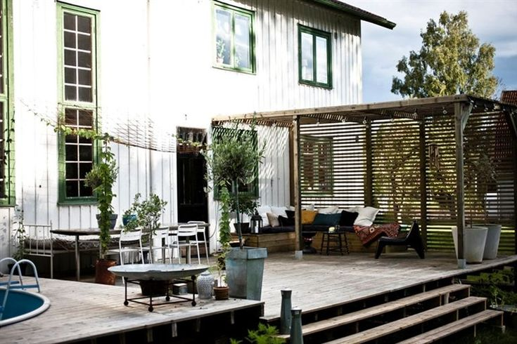 i like this outdoor space - bliss blog