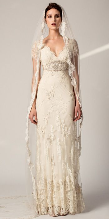 ウェディングドレス ウェディングドレス レトロ : レトロなヴィンテージスタイル ...
