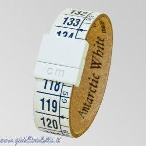Ilcentimetro Bracciale Bianco Blu Antarctic White http://www.gioiellivarlotta.it/product.php?id_product=1419