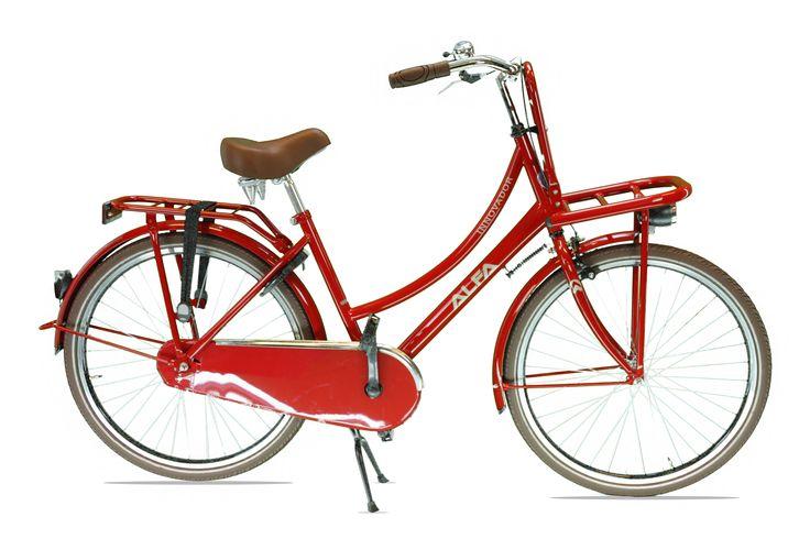 Transportfiets  Alfa Innovador Meisjesfiets /Damesfiets 26 inch / 46cm – 1 SP Wijn Rood