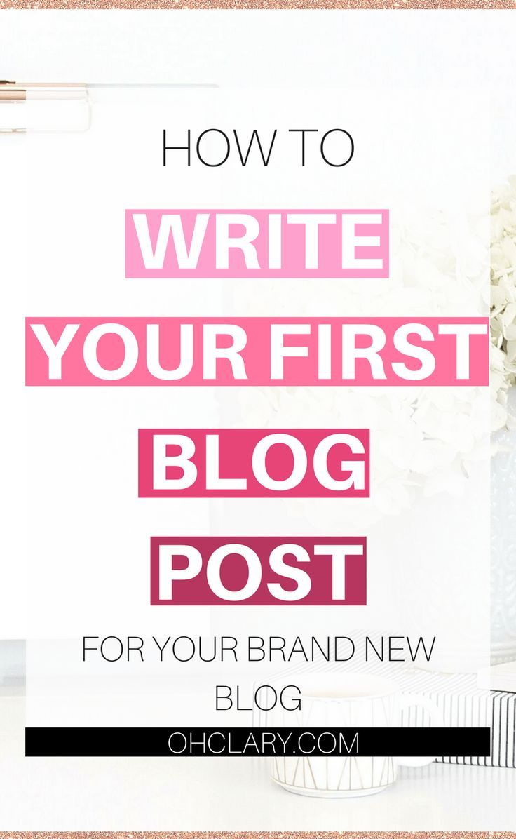 Did you just start a brand new blog but are struggling to actually write content? I had the same exact problem just a few months ago. I have created a helpful guide on how to write your first blog post! Trust me, once you get started and write your first blog post, it is much more easier to write all the following ones! First Blog Post Ideas | First Blog Post Example | First Blog Post Topics | How to write First Blog Post