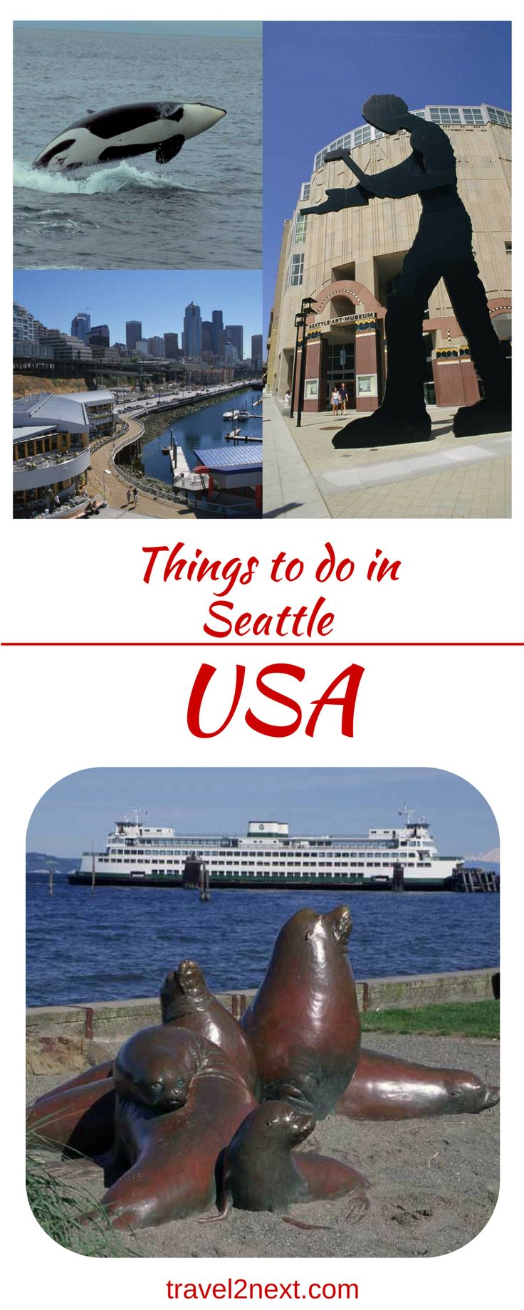 Things to do in Seattle. Starbucks coffee, Boeing jets, Microsoft millionaires, flying fish and underground tours are some of the things that will keep you sleepless Seattle!