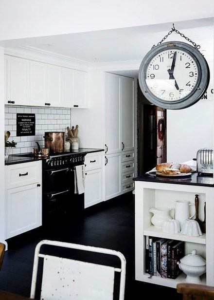 Vintage style updated in a pretty Sydney kitchen - Home Beautiful