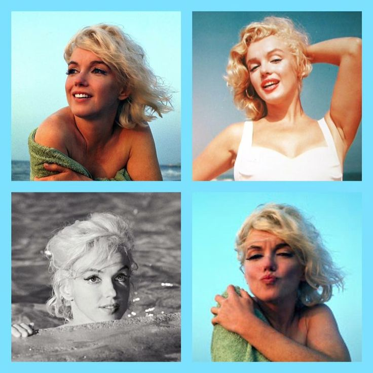 Marilyn at the beach