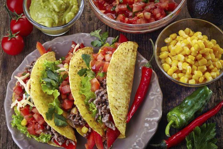 Taco Seasoning: 1 tsp. cornstarch 2 tsp. chili powder 1 1/2 tsp. kosher salt 2 tsp. garlic powder 1 tsp. ground cumin 1 tsp. cayenne pepper 2 tsp. dried onion
