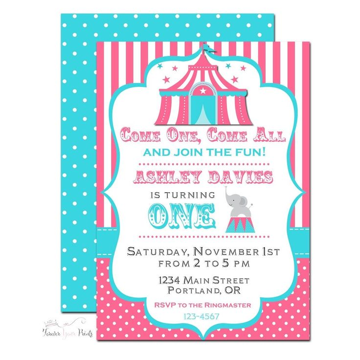 17 best ideas about carnival birthday invitations on pinterest, Party invitations