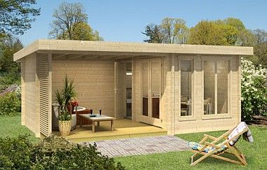 Hot Tub garden office, Log Cabins for sale, Free Delivery