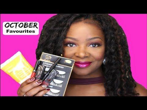 OCTOBER Favourites | 2017 - YouTube