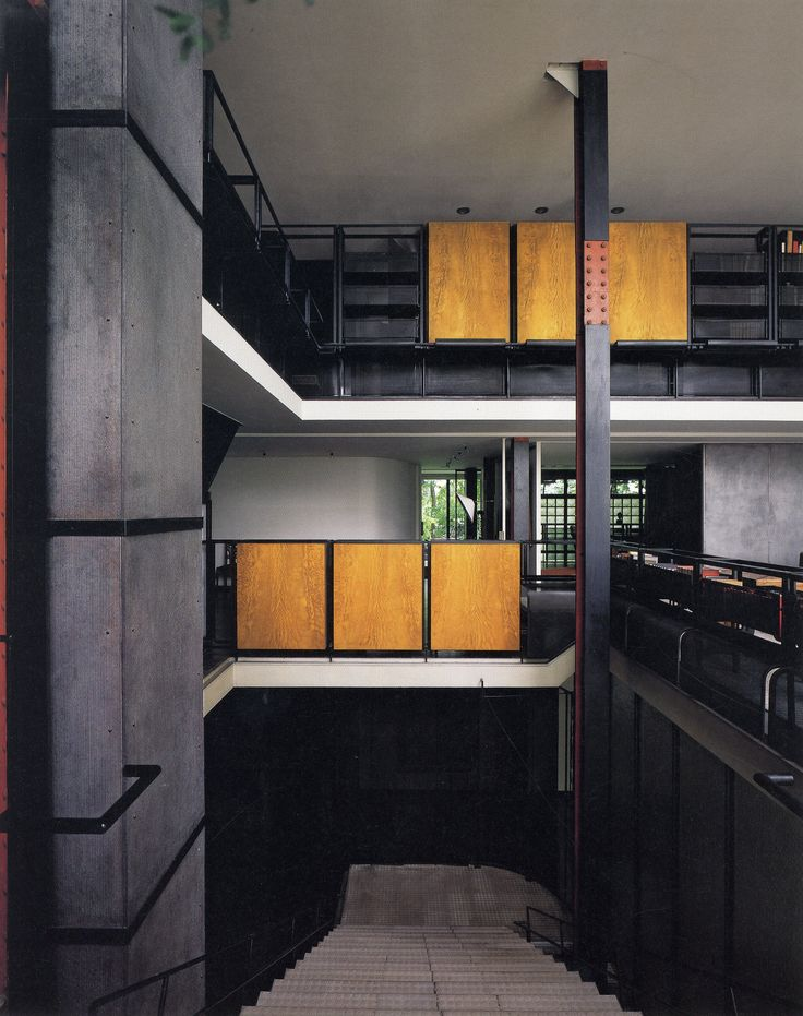 17 best images about la maison de verre pierre chareau on pinterest glasses house and de paris. Black Bedroom Furniture Sets. Home Design Ideas
