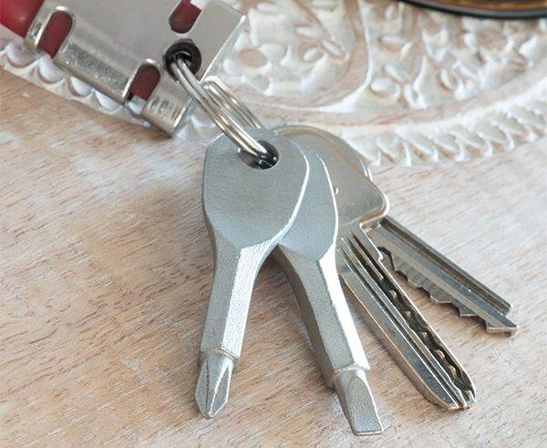 Csavarhúzó kulcstartó