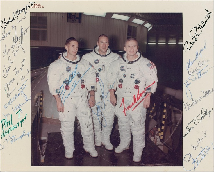 Apollo 8 Astronauts (page 3) - Pics about space