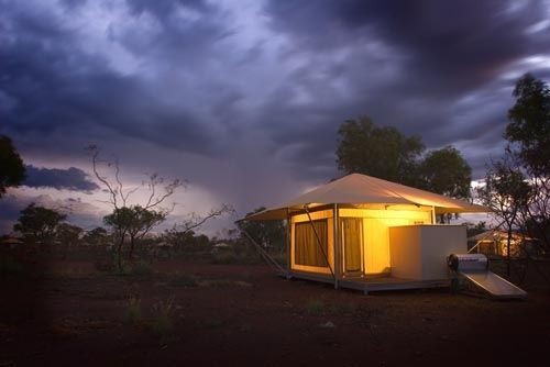 Accommodation - Our beautiful tents at Karijini Eco Resort, Glamping