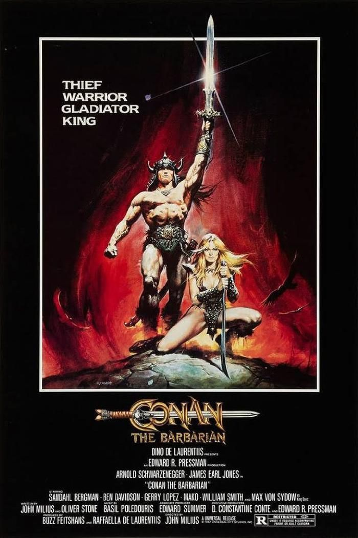 Conan the Barbarian Movie Poster (1982)