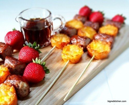 Breakfast Quiche Kebabs | 31 Foods On A Stick That Are Borderline Genius