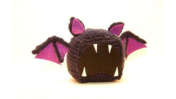 To-Be-Made Zubat Pokemon Plush Cube by PixelKnitting on Etsy