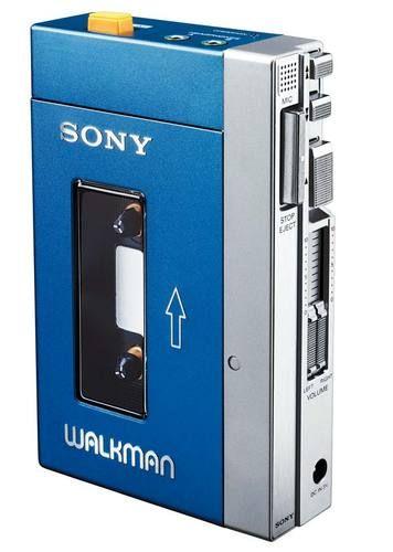 Sony walkman - 80's baby!