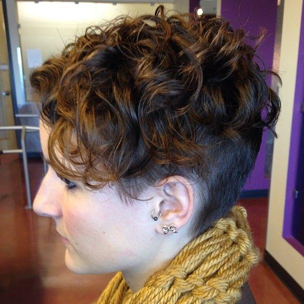 Best 25 Undercut Curly Hair Ideas On Pinterest Curly